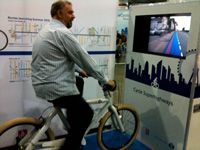 TFL Cycle Stand at London Cycle Show