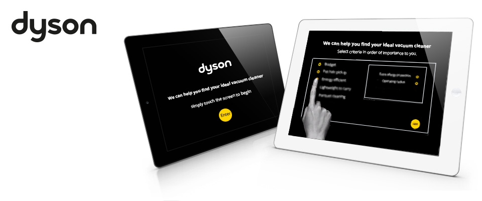 Dyson retail interface